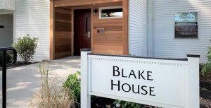 Blake House sign